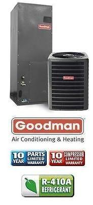 13 Seer Goodman Heat Pump System Central AC   GSZ130361   ARPT36C14
