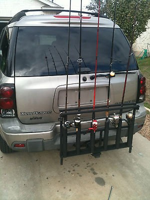 Fishing Rod Holder For Suv Or Truck Hitch Fishing Rod