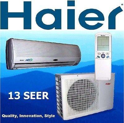 9000 Btu  3/4 ton Ductless Mini Split Air Conditioner Heat Pump