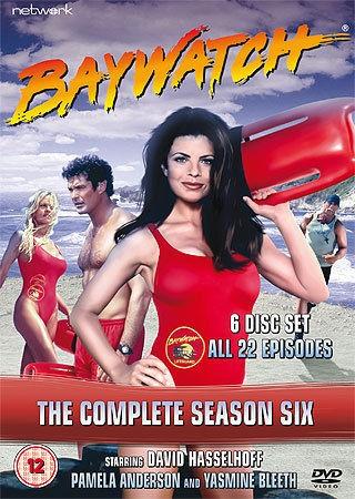 BAYWATCH the complete season series 6 six. 6 discs. Brand new DVD.