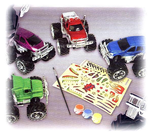 SONIC Orange Peeler Kids Meal Toy Monster Truck