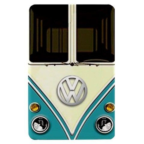retro VW turquoise minivans camper Kindle Fire Hard Case Cover Shell
