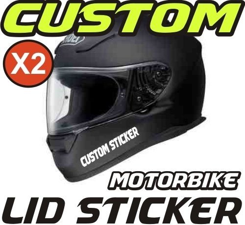 Reflective Motorcycle Helmet Stickers