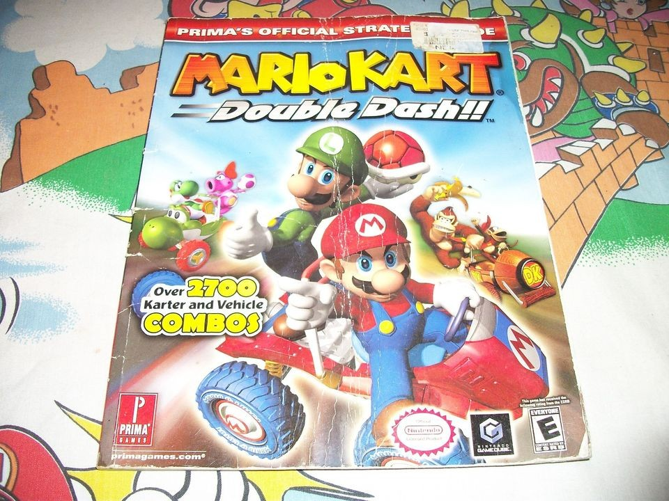 Mario Kart Double Dash Nintendo GameCube Players Strategy Guide Book