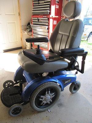 PRIDE JET 2 Power Chair Electric Wheelchair 18 Seat Runs Good Built