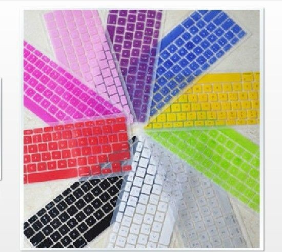 """11 Colors Silicon Keyboard Cover Skin for ALL Macbook Pro 13 """" 15"""