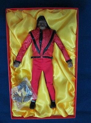 Michael Jackson Pop Dance String Doll Keychain Voodoo Doll Keyring
