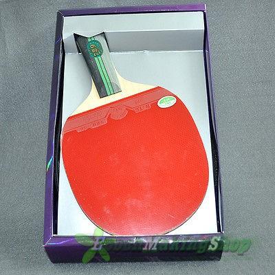 729 3 star Ping Pong Paddle Table Tennis Racket Short handle
