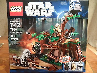 Lego Star Wars Ewok Attack building toy model No7956