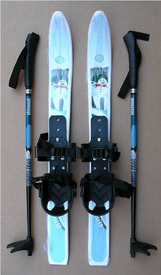 KIDS XC cross country SKI SET  SKIS/BINDINGS/POLES   No Wax