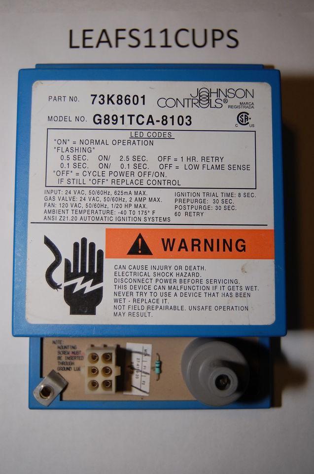 LENNOX PULSE IGNITION MODULE 60J00 73K86 USED G14 G21 FAST ... on