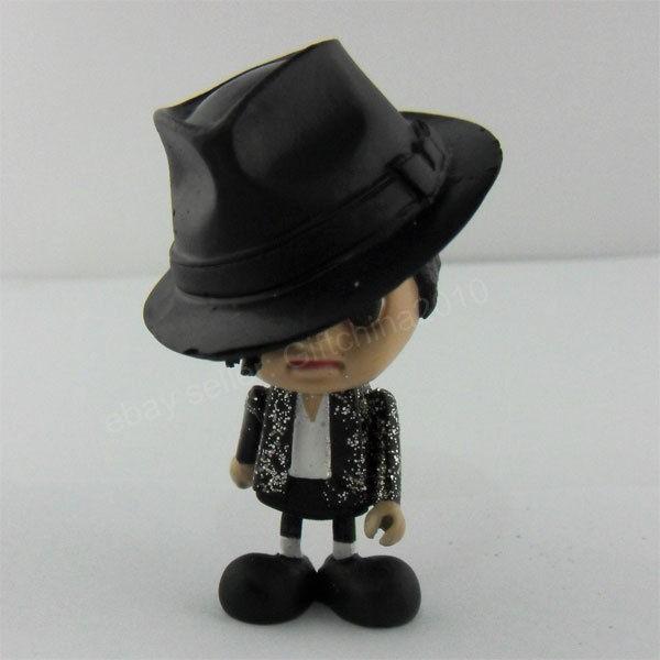 Michael Jackson MJ Billie Jean Cute Figure Dolll 3