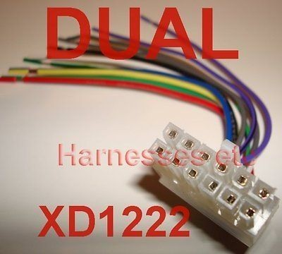 dual xd1228 wire harness diagram enthusiast wiring diagrams u2022 rh rasalibre co XD1228 Wiring-Diagram dual xd1228 wiring diagram