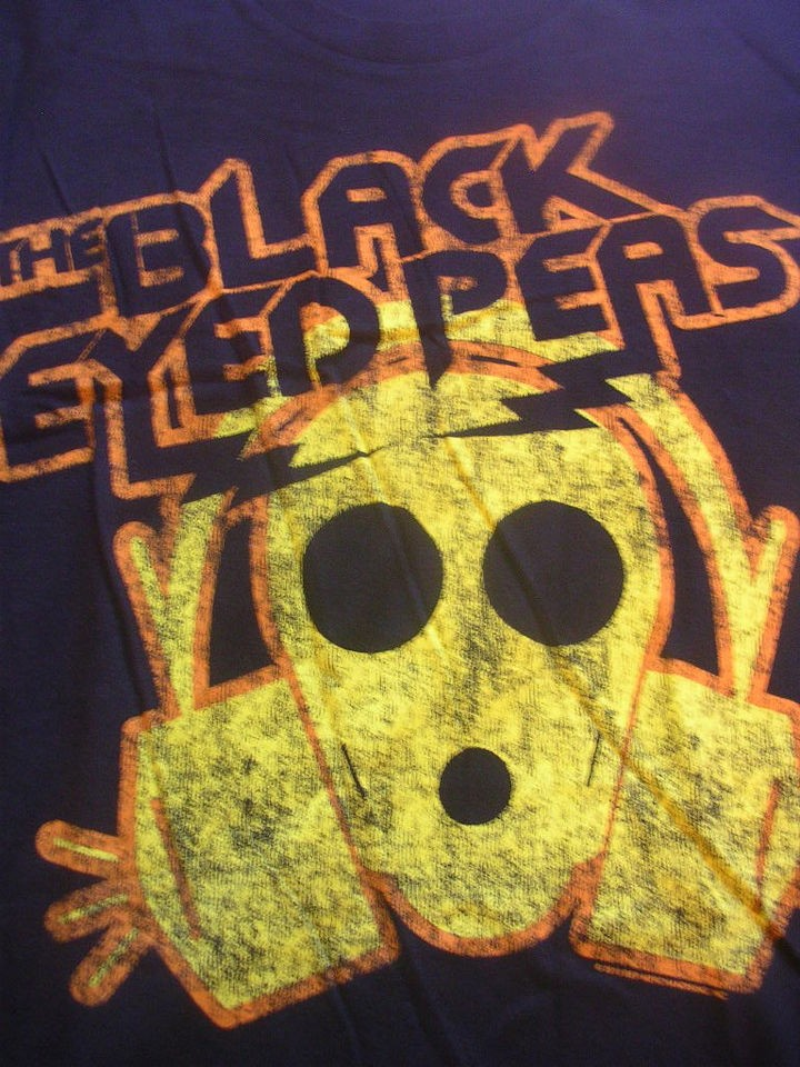 NEW BLACK EYED PEAS HIP HOP RAP POP ROCK BAND SHIRT FERGIE WILL I AM