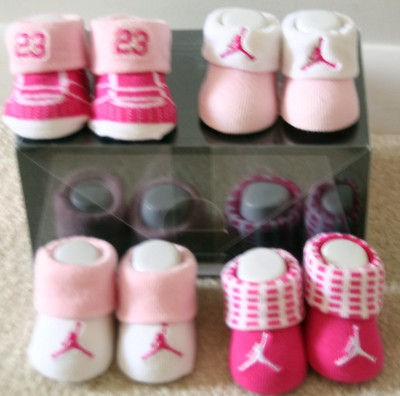20f8ed38910f Air Blu Jordan Booties Socks Crib Shoes 0 6m Baby Holiday Gifts Set