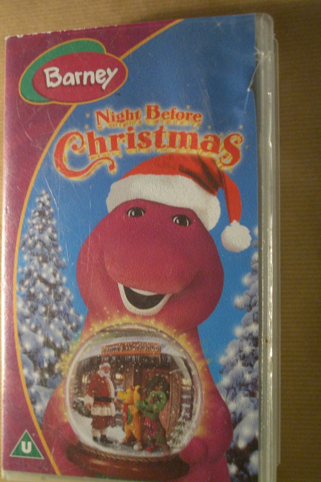 barney night before christmas in VHS Tapes