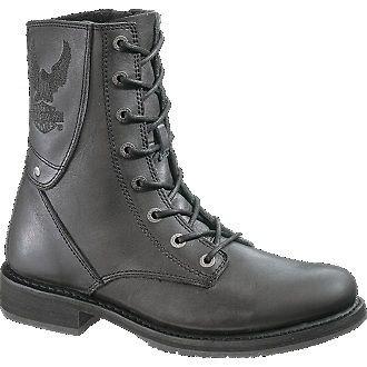 Mens Harley Davidson PLACID EAGLE Motorcycle Boots Sz 10.5M Black New