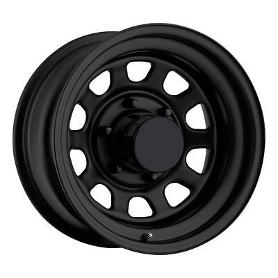 Comp Xtreme Rock Crawler Series 52 Black Steel Wheel 15x10 6x5.5 BC