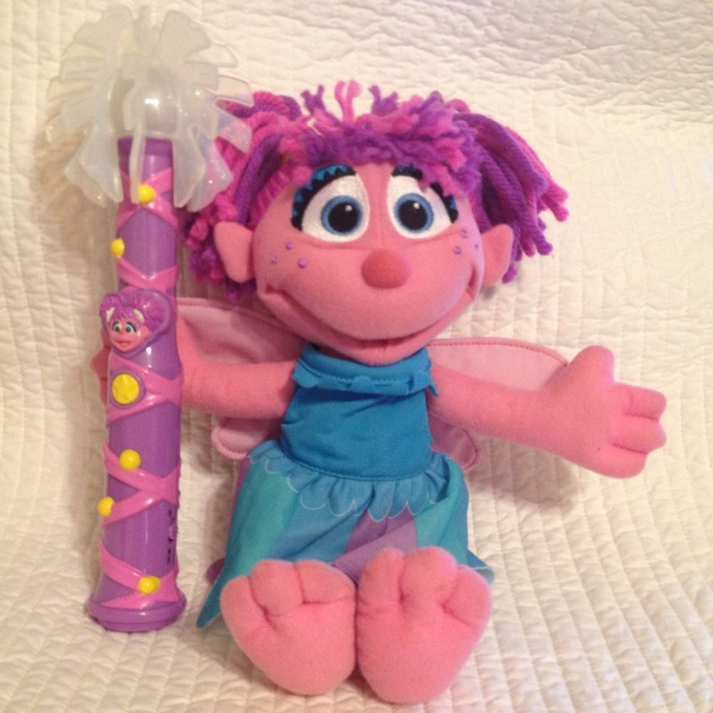 Abby Cadabby Sesame Street 13 Plush Doll With 2 Outfits