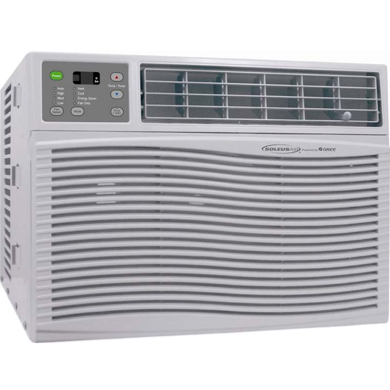 25K BTU Window Air Conditioner Heater Portable AC Heat Pump