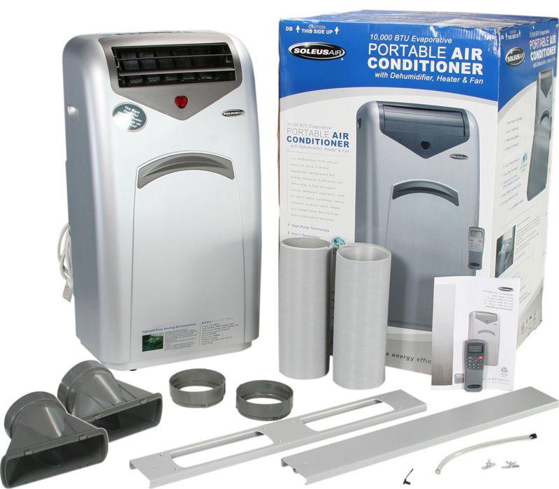 HP Portable AC Heat Pump   Air Conditioner + Heater Dehumidifier Fan