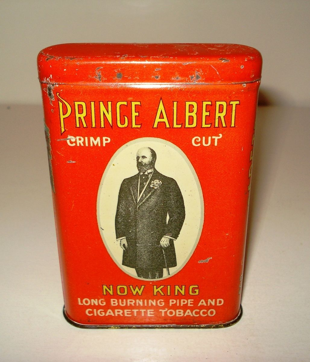 Prince Albert  Now King Version Pocket Tobacco Tin Beauty