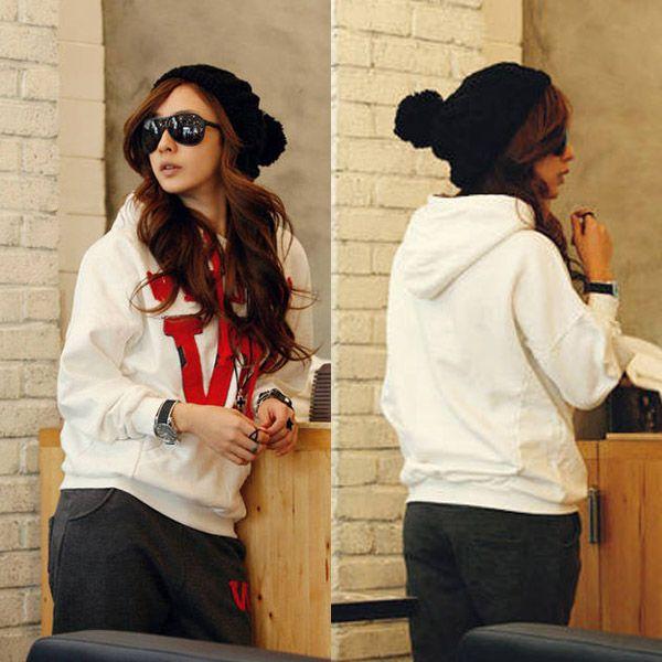 Autumn Winter New Style Korean Sweater Set Sport Suit Lady