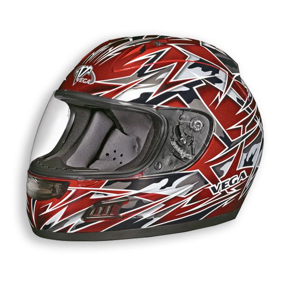 Vega Altura Havoc Motorcycle Street Bike Full Face Sport Bike Helmet