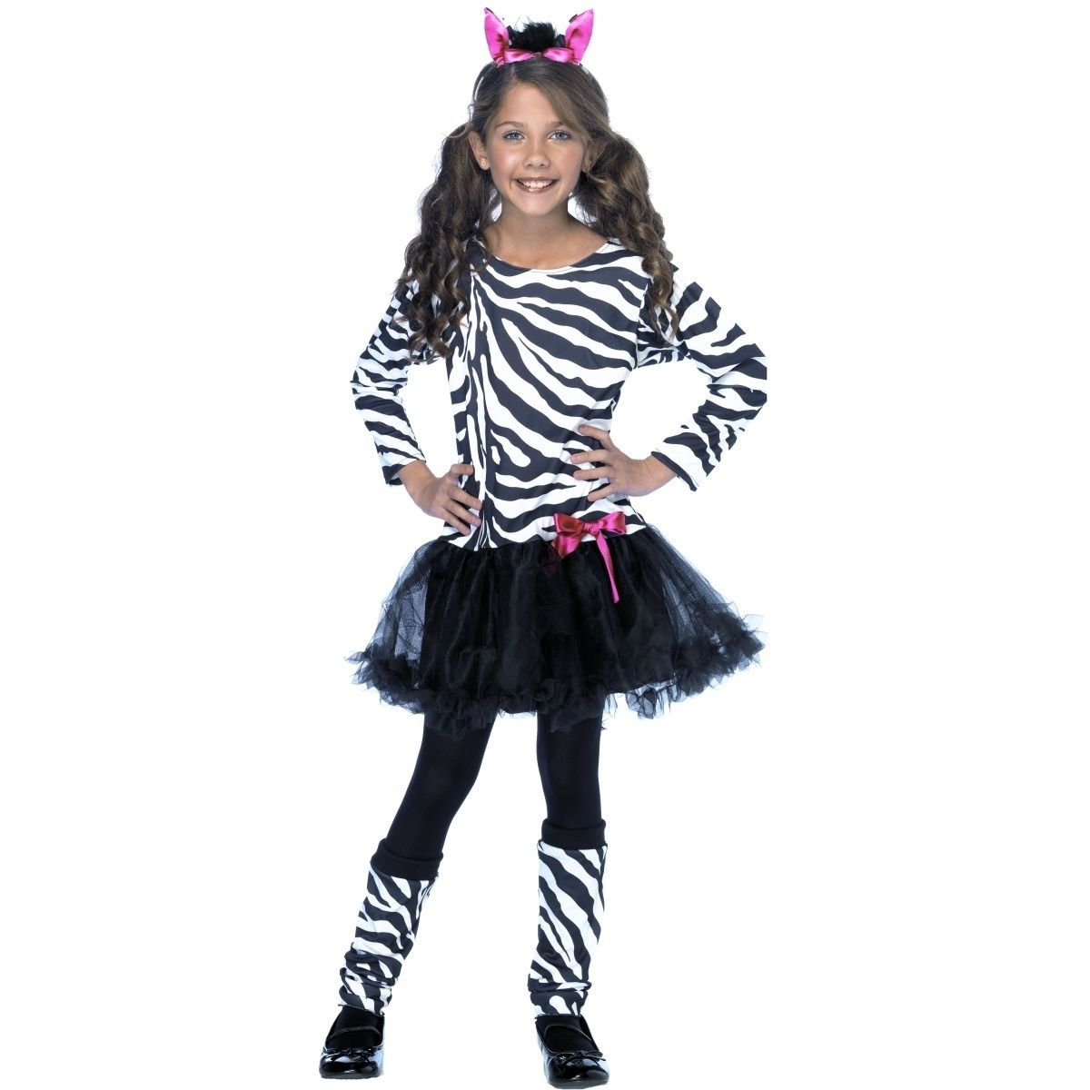 Костюм зебры для девочки своими руками
