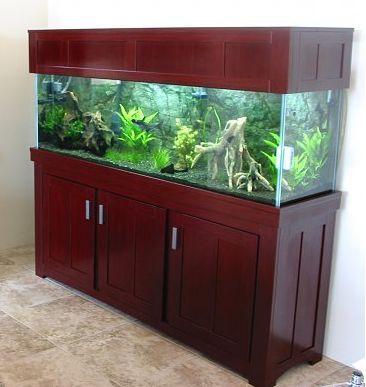 Aquarium stand and canopy fits 125 gallon aquarium for 125 gallon fish tank for sale