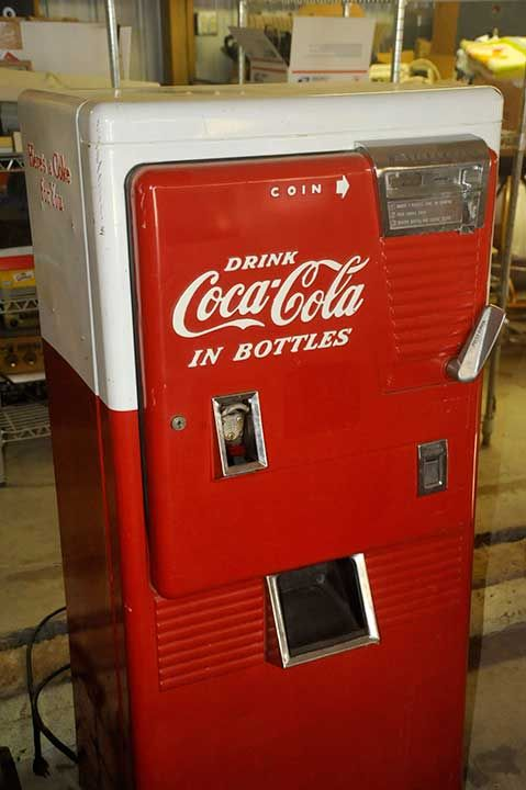 coca cola vintage coke machine westinghouse wc42t wc 42t. Black Bedroom Furniture Sets. Home Design Ideas