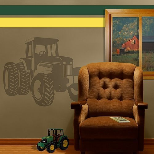 Tractor Farm Boys Kids Room Wall Art Decor Decal New