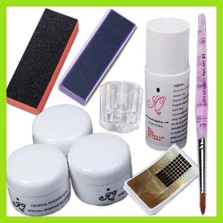 KT269 Professional Acrylic Nail Art Poweder Mixed Kits