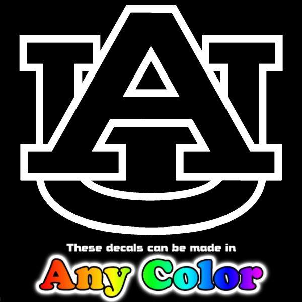 Auburn Tigers 23 AU Auto Window Sticker Banner Decals