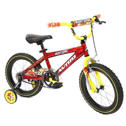 Avigo 16 inch Blast Zone Bike Boys