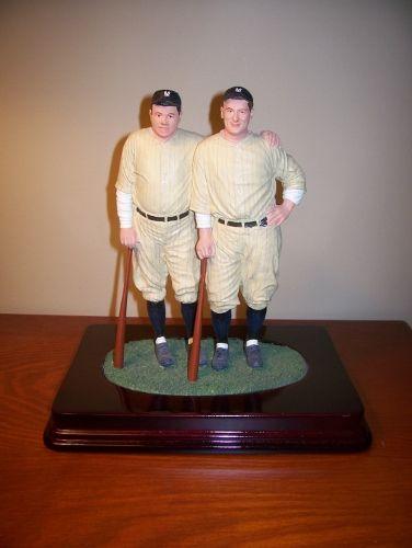 Babe Ruth Lou Gehrig Hartland Figurine