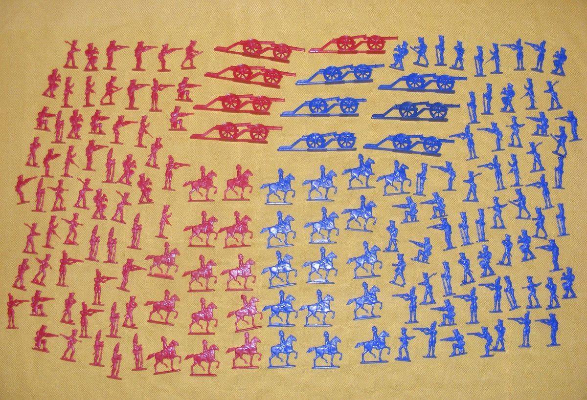 Helen Of Toy Comic Book Flats AWI Revolutionary War Plastic Soldiers
