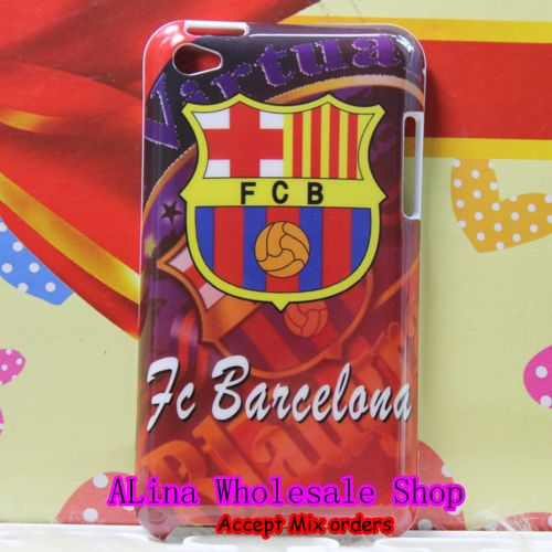 New Fc Barcelona Football Club Team Red Hard Back Cover Case For iPod