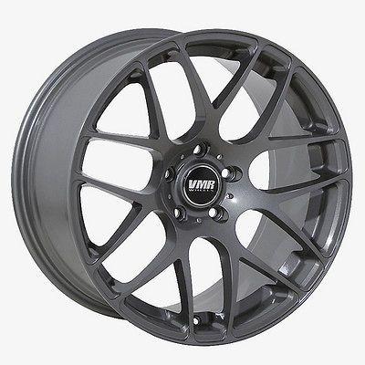 19 VMR V701 Matte Black Wheels Rims Fit BMW 325i 328i 330i 335i (2006