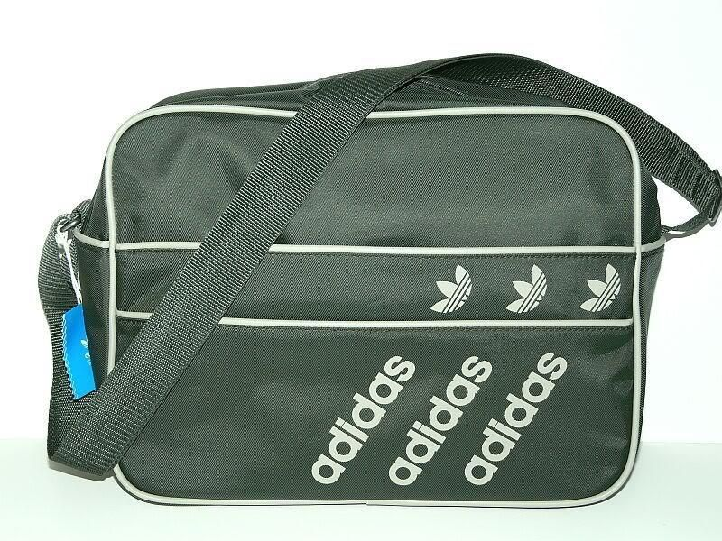 17d9ef1ee9 ADIDAS LINEAR AIRLINE BAG Military Green White flight shoulder