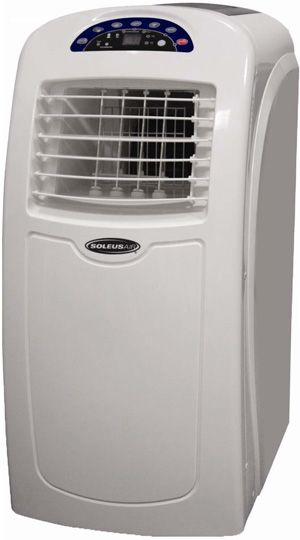 Portable Air Conditioner A/C, Soleus AC Fan Dehumidifier 10000 BTU