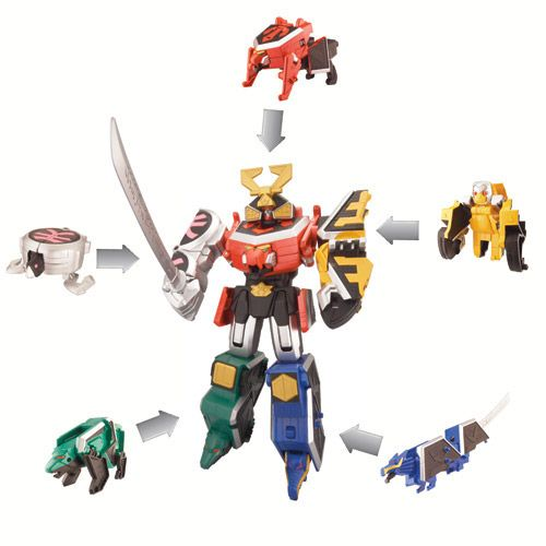 power rangers samurai megazord manufacturer bandai our recommended age