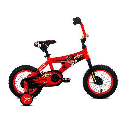 Avigo 12 inch Power Rangers Samurai Bike Boys Red