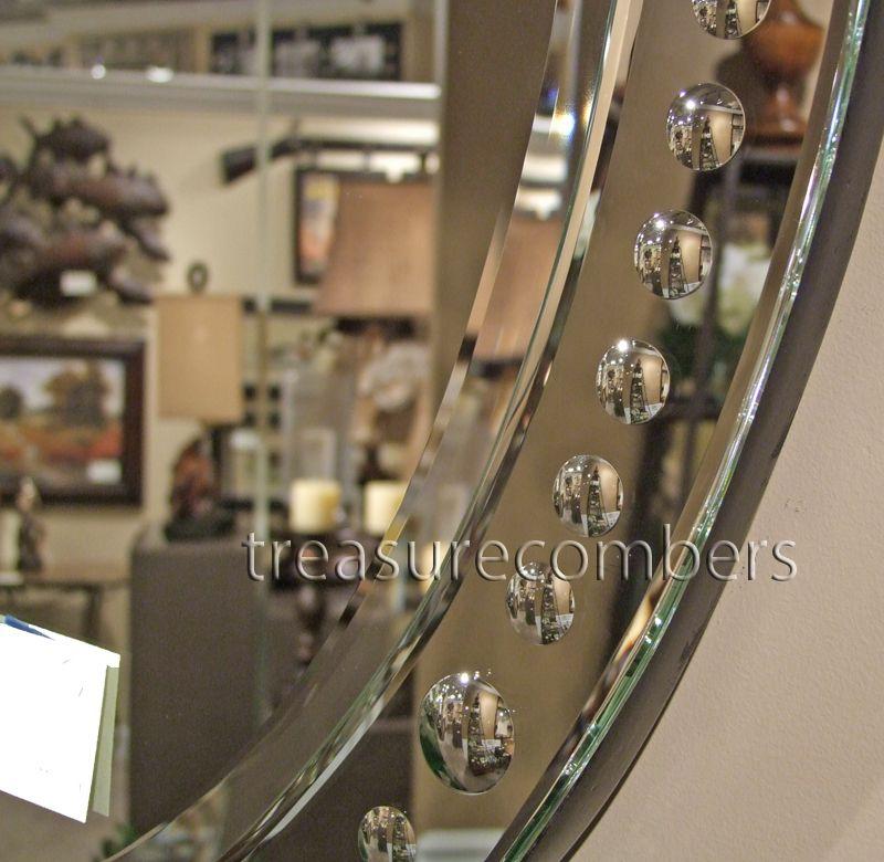 Frameless Oval Beveled Venetian Wall Mirror Bathroom