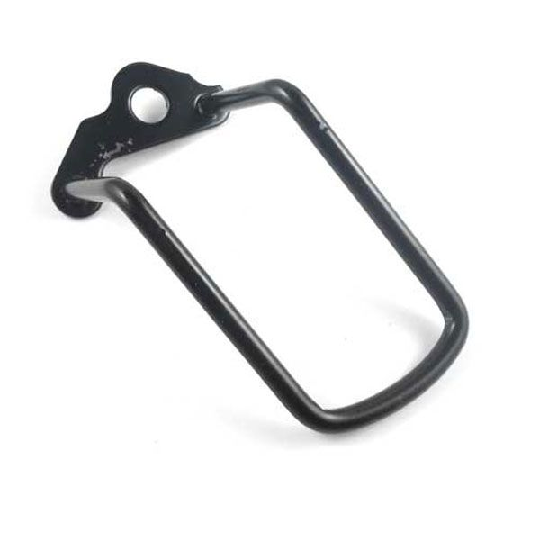 Bike Cycling Bicycle Rear Derailleur Chain Stay Guard Protector Black