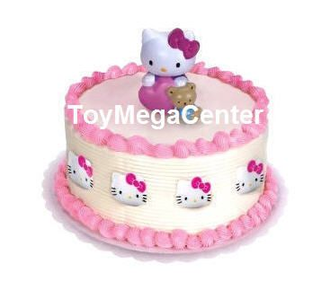New Hello Kitty Kids Birthday Party Cake Decoration Topper
