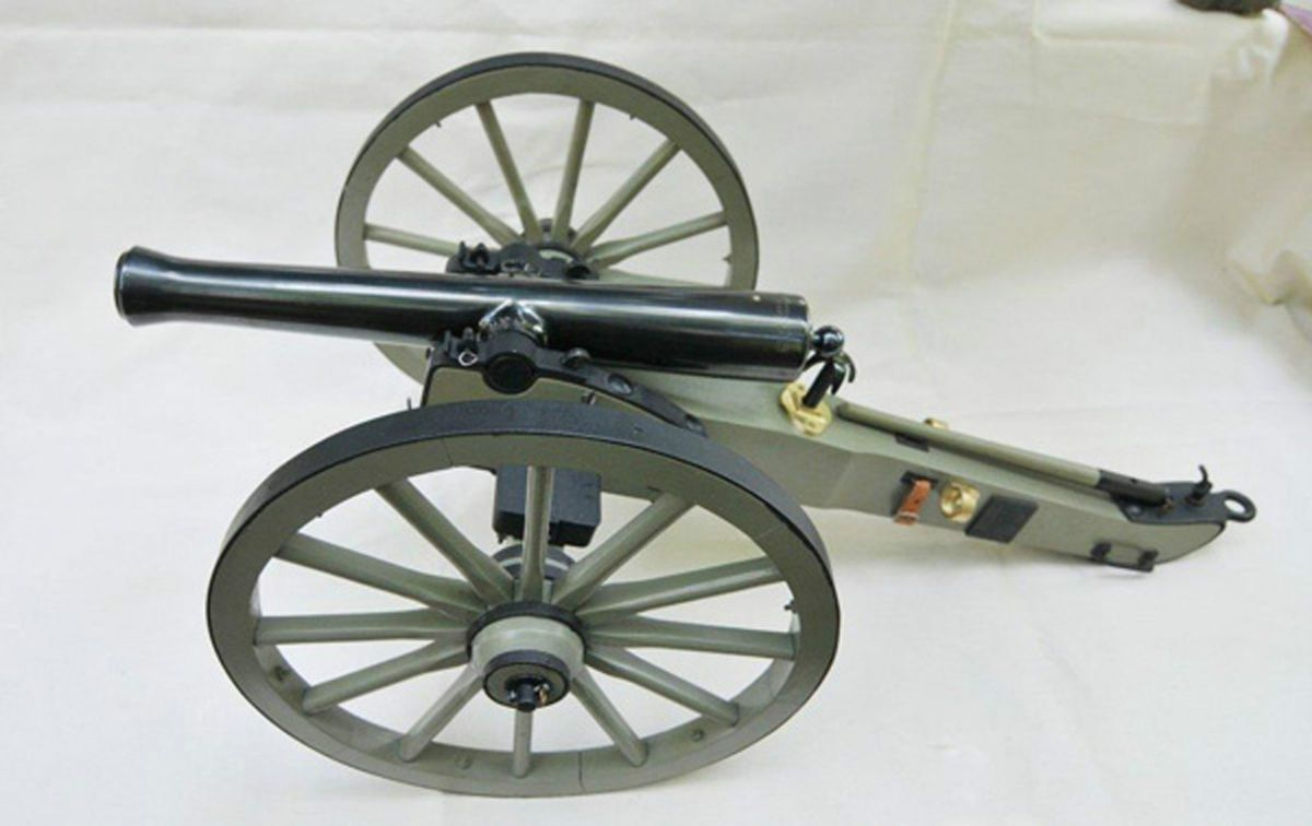 how to build a mini black powder cannon