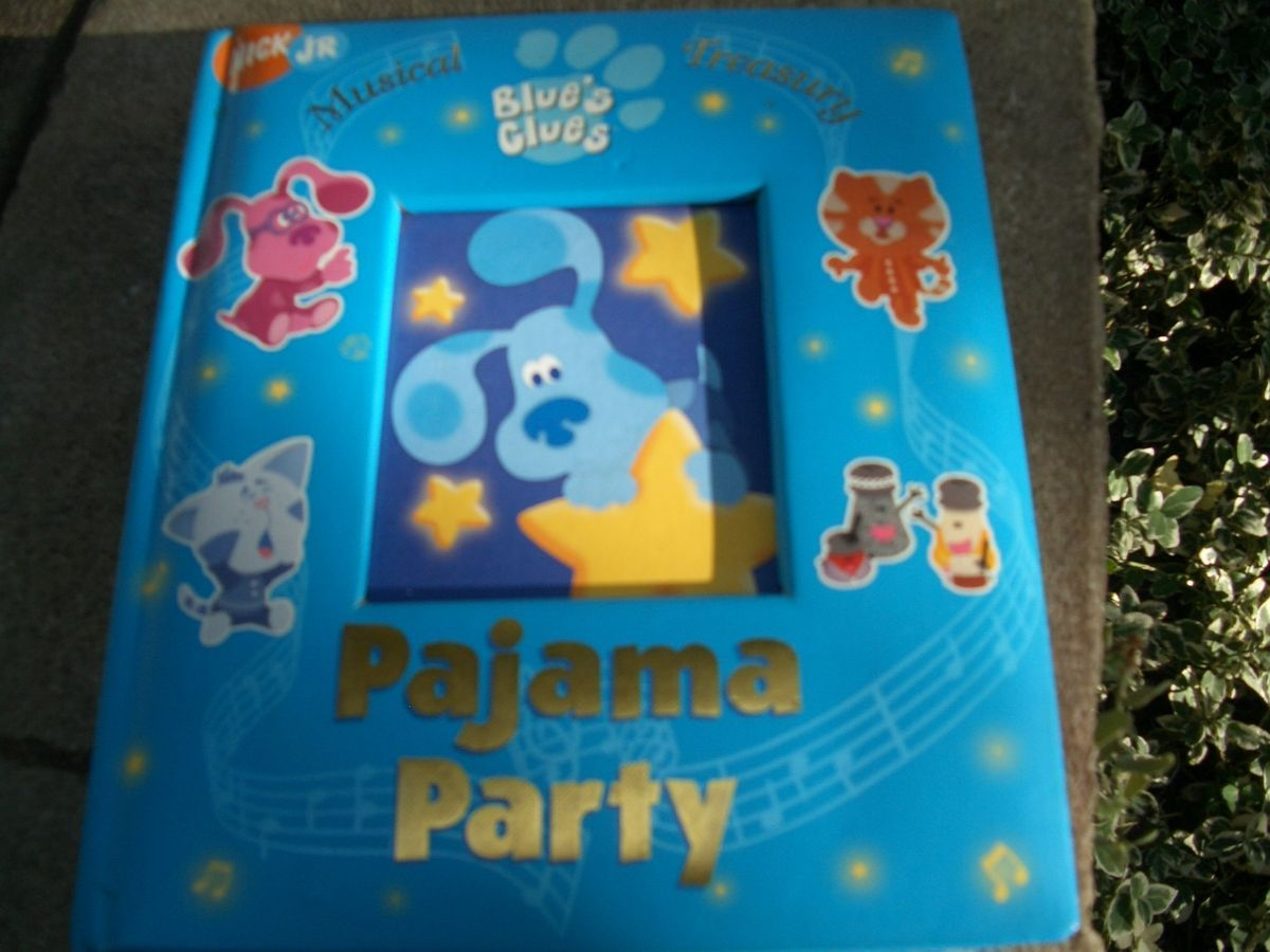 All About Amazoncom Blues Clues Blues Big Pajama Party Vhs