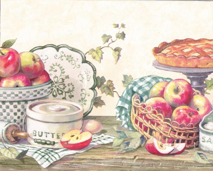 Country Kitchen Grannys Apple Pie Berautiful Wallpaper ...