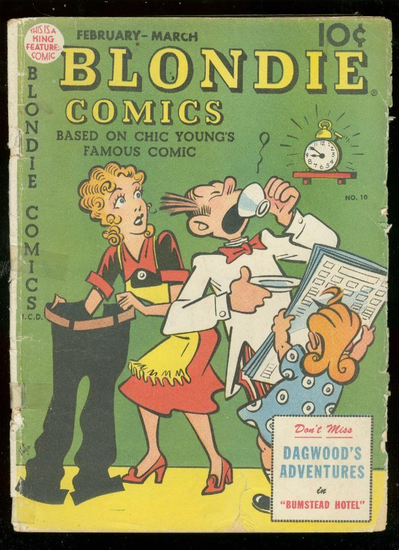 Blondie Comics 10 49 Dagwood King Feature Paul Bunyan